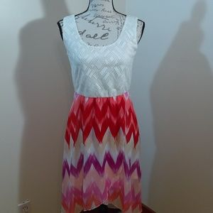 Lily Rose Dress size small Hi Lo